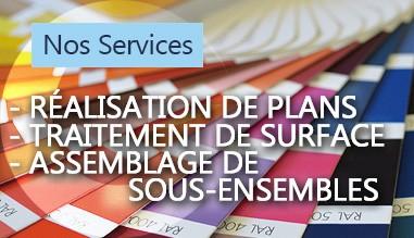 Nos services : Traitement de surface gueriel